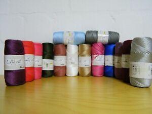 150 meter Makramee Garn Nylon Schnur Shamballa 1,5mm 42 Verschiedene Farben