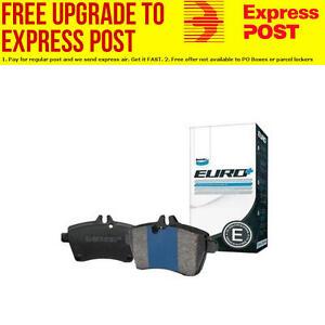 Bendix Rear EURO Brake Pad Set DB1449 EURO+ fits Citroen C2 1.6 VTS,1.6