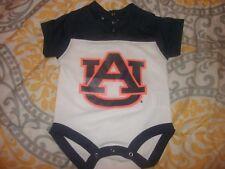 Baby Auburn Tigers #00 3/6 Mo Jersey Creeper Football Baseball Basketball (B25)