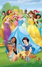 Fototapete Kinderzimmer Disney Princess Prinzessin Tapete ca.152x243cm Mädchen