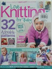 Love Knitting For Baby UK May 2017 32 Adorable Patterns Project FREE SHIPPING sb