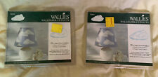 Wallies wallpaper cutouts new in package NIP 2 Packs Of 25. Clouds. Blue & White