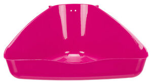 Trixie Rabbit Litter Tray - Corner Shaped - Standalone or use in Cages/Hutches
