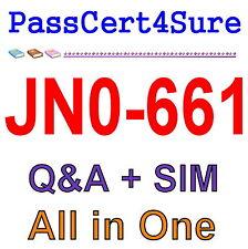 Juniper Service Provider Routing and Switching JNCIP-SP JN0-661 Exam Q&A PDF+SIM