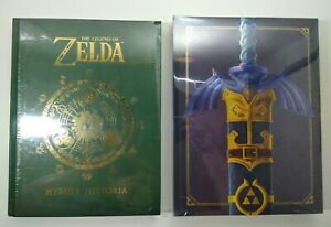 NEW The Legend of Zelda: Art and Artifacts Limited Edition + Hyrule Historia