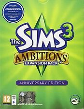 The Sims 3 Ambitions Expansion Pack Anniversary Edition Pc Sigillato