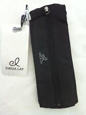 EMILIA LAY Kosmetiktäschchen, schwarz, Stoff, faltbar, 19 x 7,5 x 6 cm, NEU