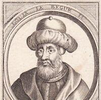 Portrait XVIIe Louis le Bègue II Roi de Francie Occidentale Roi d'Aquitaine