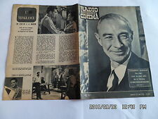RADIO TELEVISION CINEMA N°440 22/6/1958 PROFESSEUR OPPENHEIMER MAX OPHULS    G86
