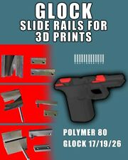 DIY Polymer80/Glock Slide Rails 17/19/26 FREE SHIPPING