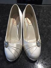 Paradox Mid Heel (1.5-3 in.) Satin Bridal Shoes
