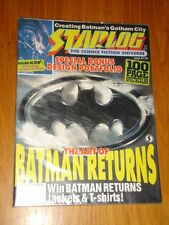 June Starlog Sci-Fi Magazines