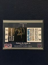 GREEN BAY PACKERS 1990 Pro Set Super Bowl I Ticket Stub #1  MINT