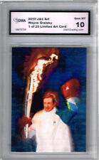 2010 Wayne Gretzky Olympic Torch Art  Card  of 25 Gem Mint 10