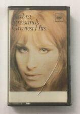 """Barbra Streisand """"Greatest Hits"""" Tape Cassette *CBS 40-63921* Play Tested"""