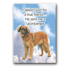 Leonberger True Friend From God Fridge Magnet New Dog