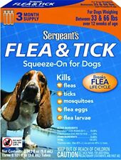 Sergeant's Flea & Tick Squeeze-On For Dog Over 33 Lb