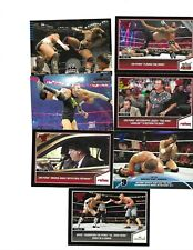 TOPPS WWE BORN IN CHICAGO ILLINOIS 7 CM PUNK WRESTLING CARDS