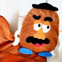toy story potato fuzzy pillow cushion blanket nap quilt pillows blankets cartoon
