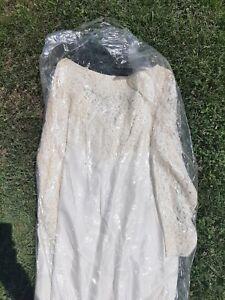Vintage White Wedding Dress