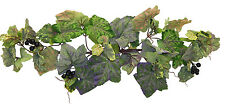"24"" Frosted Grape Swag Silk Flowers Artificial Greenery Wedding Arch Home Decor"