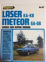 Gregorys Ford Laser 1981-1982 Meteor GA-GB Service and Repair Manual No 197