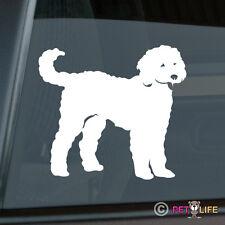 Goldendoodle Sticker Die Cut Vinyl - doodle
