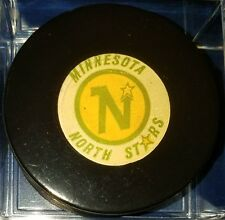 1973-83 NHL Viceroy Game Puck Rubberized Logos CANADA minnosota north stars