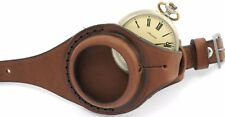 New Color Brandy! Ww1 times New Leather Strap Band Wristband For Pocket Watch 50