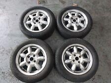 """Mazda MX5 MK1 Daisy 14"""" Alloy Wheels with Tyres."""