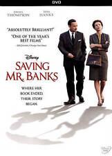 Saving Mr. Banks Disney DVD Tom Hanks Emma Thompson NIB