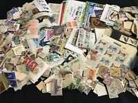 WORLD LOT 100+ Stamps Sheets Covers Mixed Early & Modern MNH MH Used
