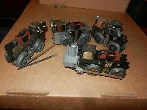 4 MARX Locomotive Motors, Parts Lot, Original