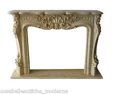 Camino Classico Caminetto Marmo 5 Classic Stone Marble Fireplace