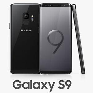 Samsung Galaxy S9 Black 64GB G960U Verizon/Verizon Prepaid Smartphone