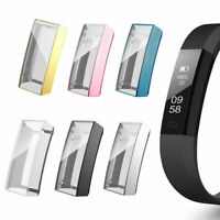 Soft TPU Full Cover Screen protector Clear Slim Case For Fitbit Alta/Alta HR/Ace