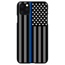 Hard Case Cover for Apple iPhone (Pick Model) Thin Blue Line Law Enforcement