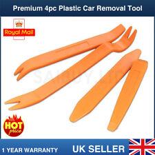 4pc PLASTIC CAR RADIO DOOR INTERIOR CLIP PANEL TRIM DASH REMOVAL PRY LEVER TOOL