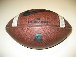 2018 Michigan State Spartans GAME USED Nike Vapor One Football - University Ball