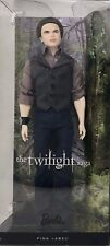 The Twilight Saga Breaking Dawn Emmett 2012 Ken Barbie Doll New In Box Nrfb