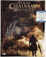 Andrew Bryniarski signed Texas Chainsaw Massacre 11x14 Photo #2 ~Beckett BAS COA