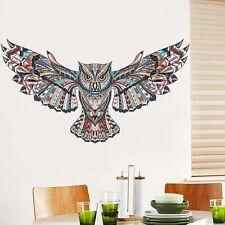 DIY Removable Creative Owl Vinyl Wall Sticker Home Living Room Fridge Decor New