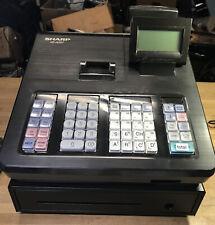 SHARP XE-A207 Electronic Cash Register -- Menu Based Control System