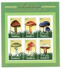 MODERN GEMS - Maldives - Mushrooms - Sheet Of 6 - MNH