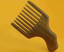 Wooden Comb Wood Afro Comb Pick Upright Wide Tooth Curly Hair Pick No Static