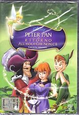 Dvd Disney «PETER PAN ♥ RITORNO ALL'ISOLA CHE NON C'E'» nuovo 2002