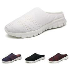 Mens Slingbacks Flats Breathable Comfy Summer Moccasins Loafers Slippers Shoes D