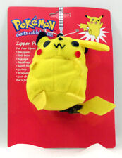 POKEMON PLUSH ZIPPER PULL PIKACHU NEW