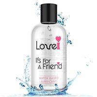 Premium Personal Lubricant Sensitive Natural Water Based Long Lasting Slick