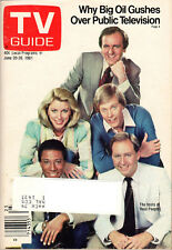 1981 TV Guide - Real People - John Barbour - All My Children - Taylor Miller